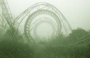 parc de distractii abandonat