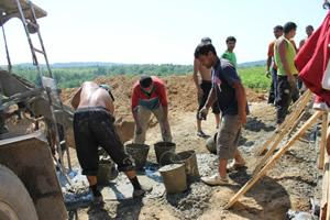Muncitori rromi